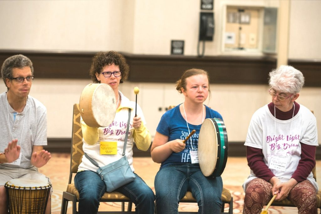 CAWS Music Scholarship drum circle