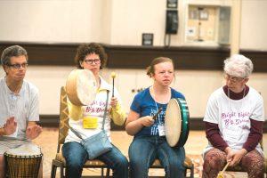 CAWS Music Scholarship drum circle